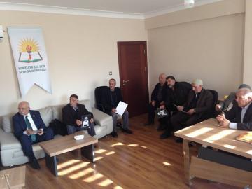 Serokê Platforma Demokratên Kurd Rêzdar Sertaç BUCAK, Rêvebirên PDK/AMED