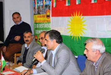 """Rexistinên Bakûrê Kurdîstanê """"Pêvajoya Çareserîyê"""" gengeşî kirin"""